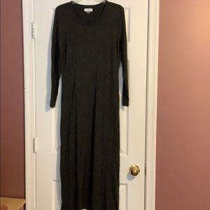 Calvin Klein knit maxi dress